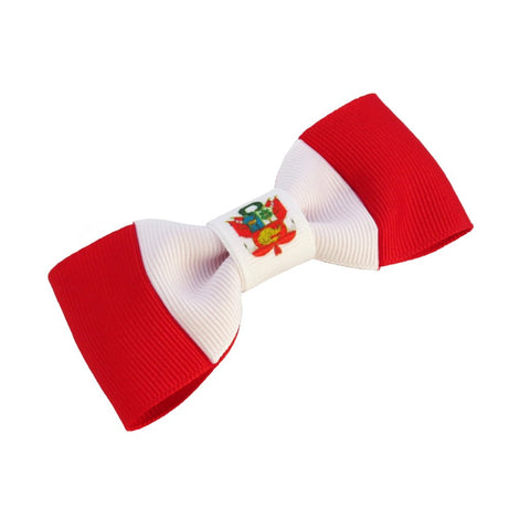 Peru Flag Hair Bow