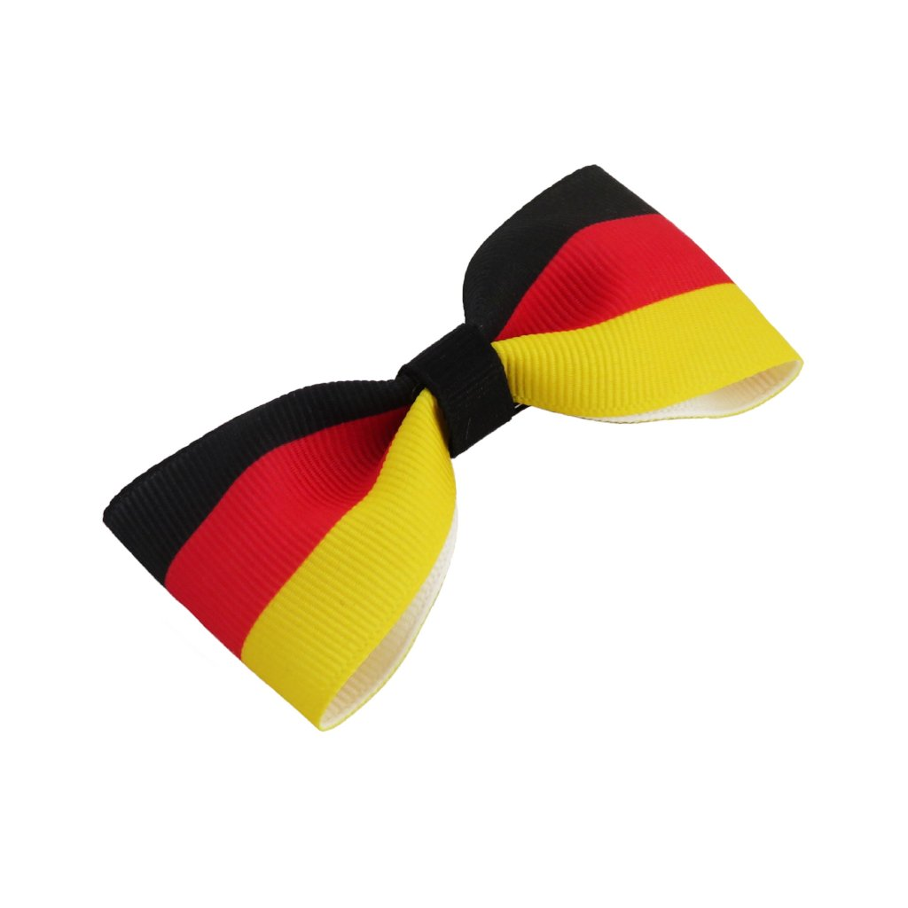 Germany flag hair bow