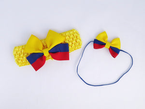 Colombia flag headbands