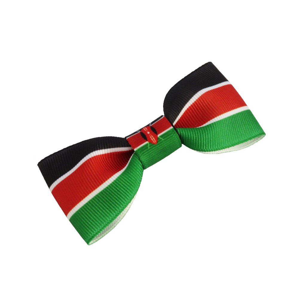 Kenya Flag Hair Bow