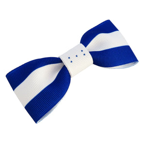 Honduras flag hair bow