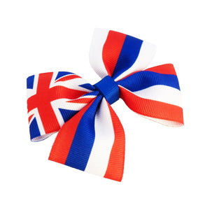 Hawaii flag hair bow