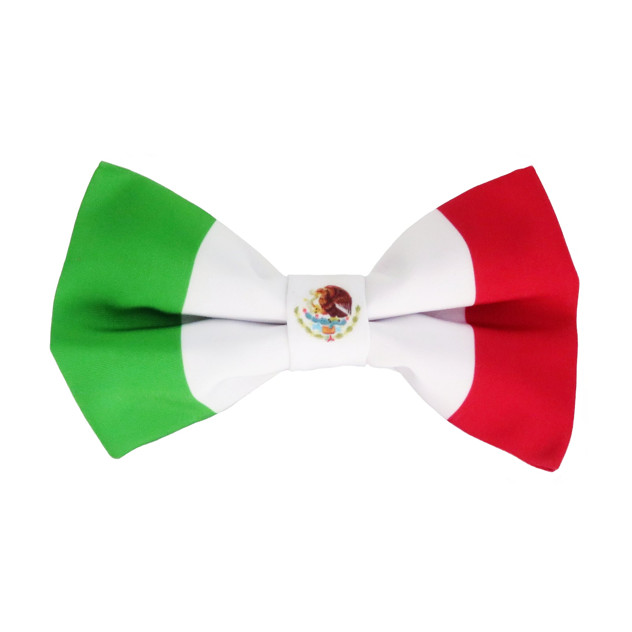 Mexico Flag Bow Tie for men and boys