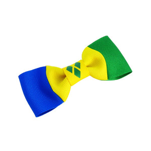 St Vincent and the Grenadines Flag Hair Bow