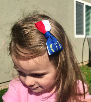US State Flag Hair Bows