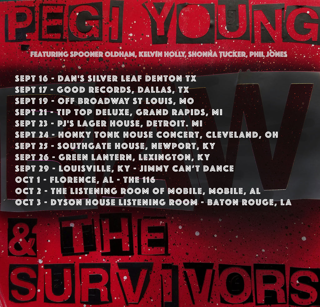 Pegi Young and the survivors fall tour 2017