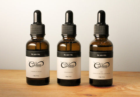 Cutlass Beard Oil Sample Pack (1 mL)