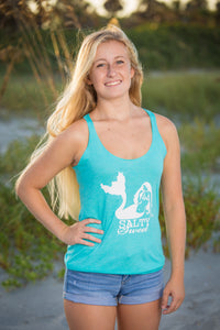 Mermaid on the Beach - Tank