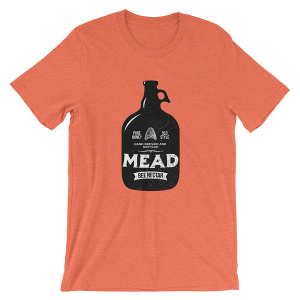 """Mead"" Beekeeper T-Shirt (Orange)"