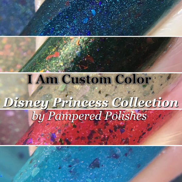 Disney Princess Collab w/PamperedPolishes