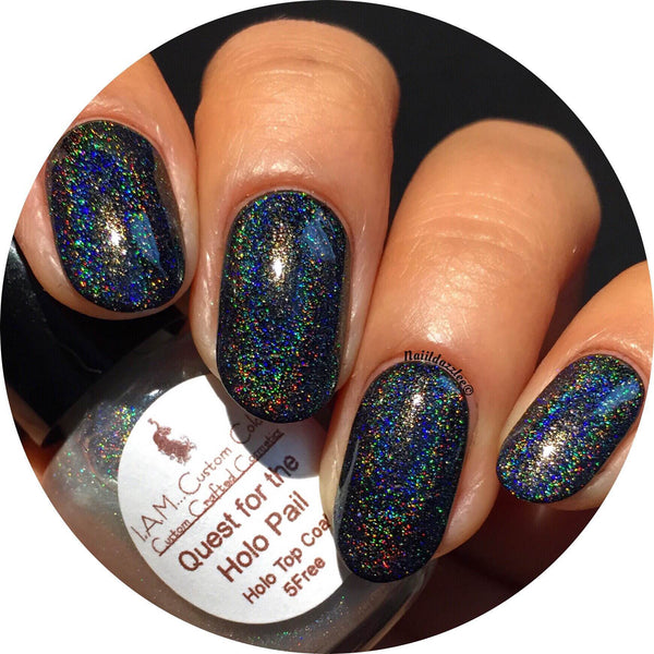 Quest for the Holo Pail- Ultimate Holo Nail Polish Topper 5FREE