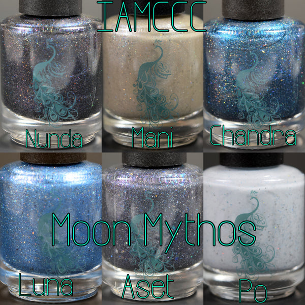 Moon Mythos Set - 6 Nail Polish set or individually