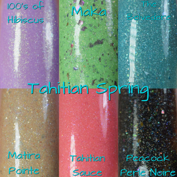Tahitian Spring Collection-Travelogue series