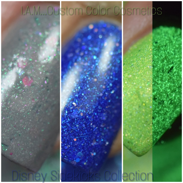 Disney Sidekicks Collab w/PamperedPolishes