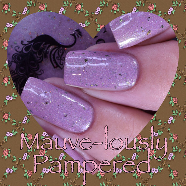 Mauve-lously Pampered-Timberlin Birthday Polish