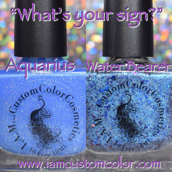 "Aquarius ♒️ ""What's Your Sign"" Duo ~ Zodiac Collection"