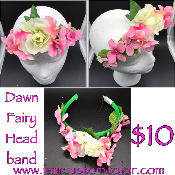 Fairy Crowns, Flower Crowns, Headbands, Hair accessories