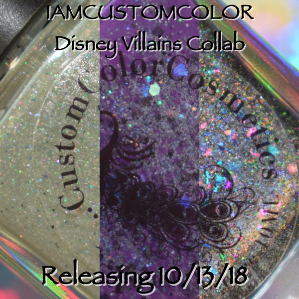Disney Villains Collab w/PamperedPolishes