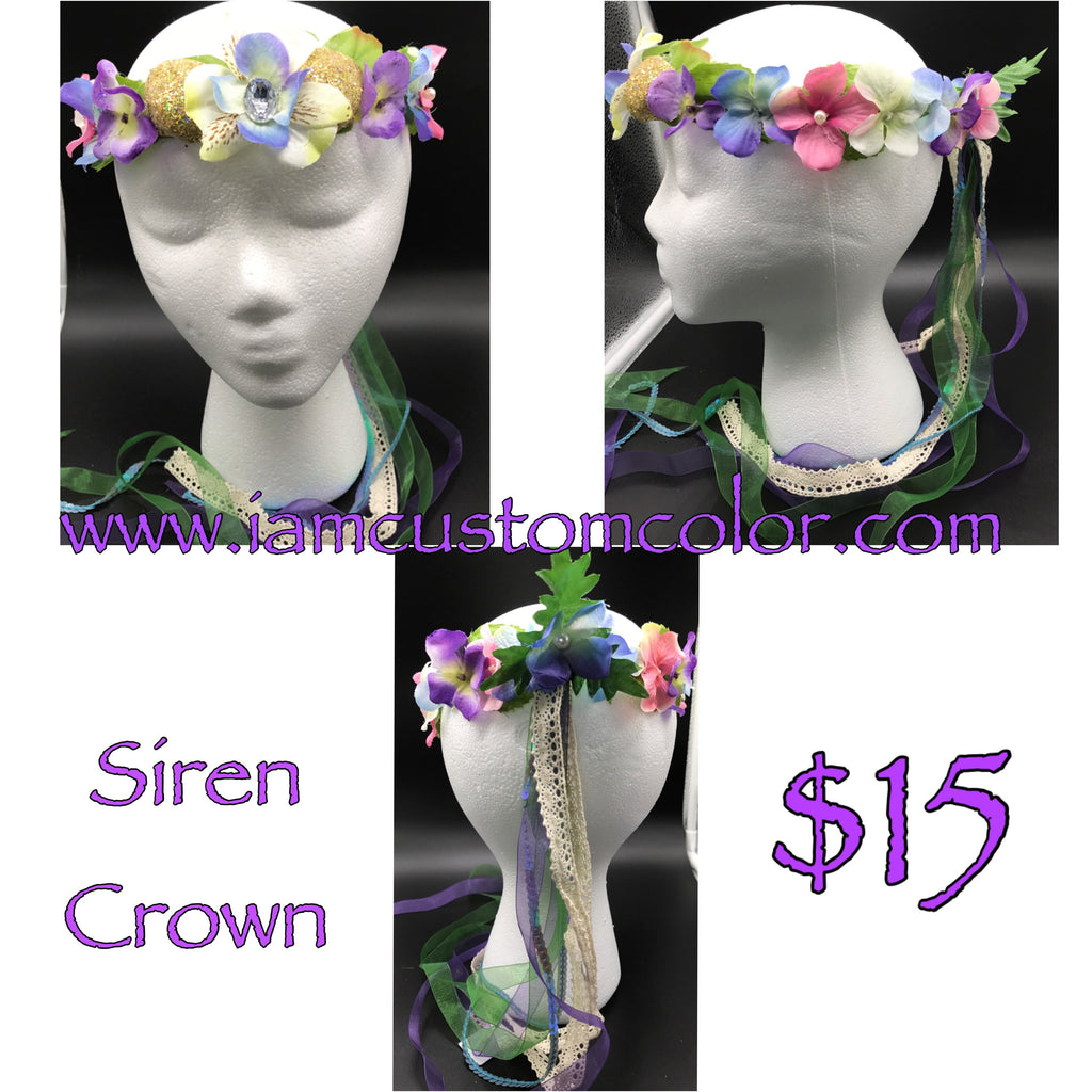 Fairy Crowns Flower Crowns Headbands Hair Accessories Iam