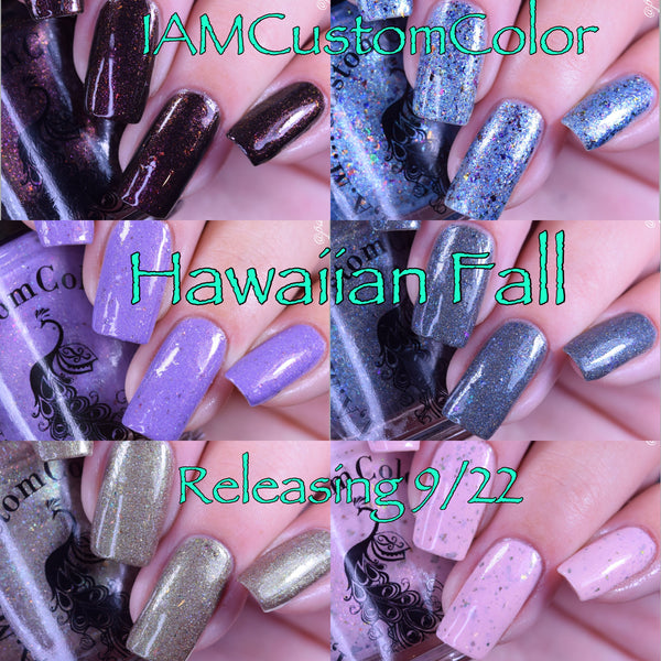 Hawaiian Fall collection
