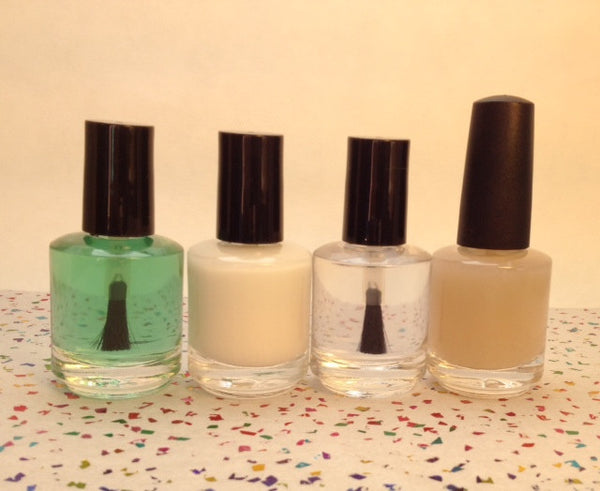 TOP COATS: BEES KNEES-WAXY MATTE OR DIAMOND WATER-HIGH SHINE