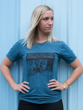 The Bluebird Blue Tee