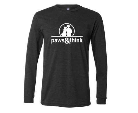 PREORDER! Paws & Think Long Sleeve Tee