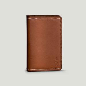 Wolf Passport Wallet - Brown - Wolf Leather Goods