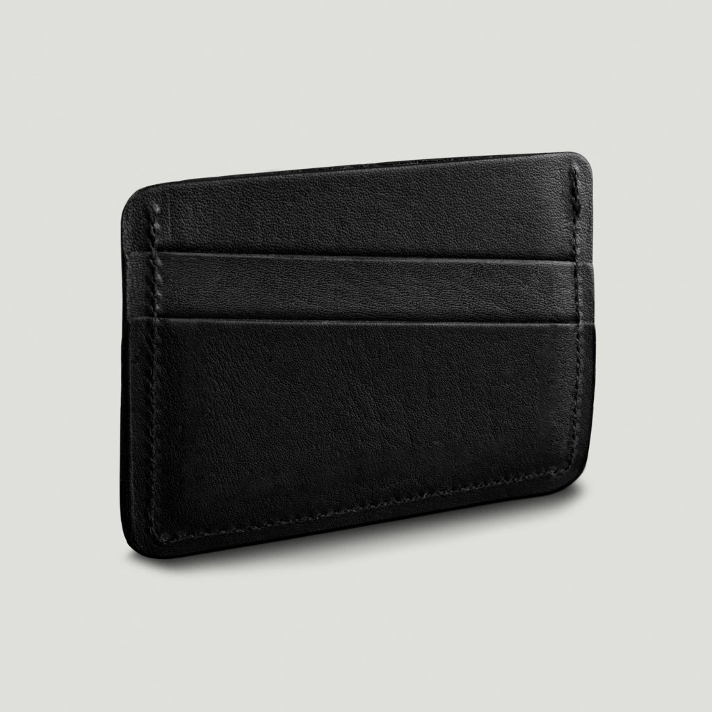 Wolf Card Holder No.1 - Black - Wolf Leather Goods