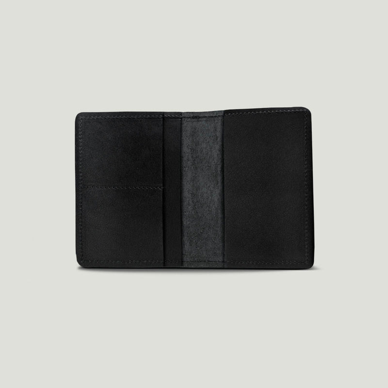 Wolf Passport Wallet - Black - Wolf Leather Goods
