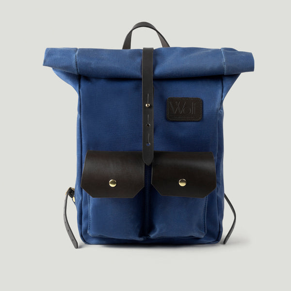 Wolf Pack No.1 Mini Blue - Wolf Leather Goods