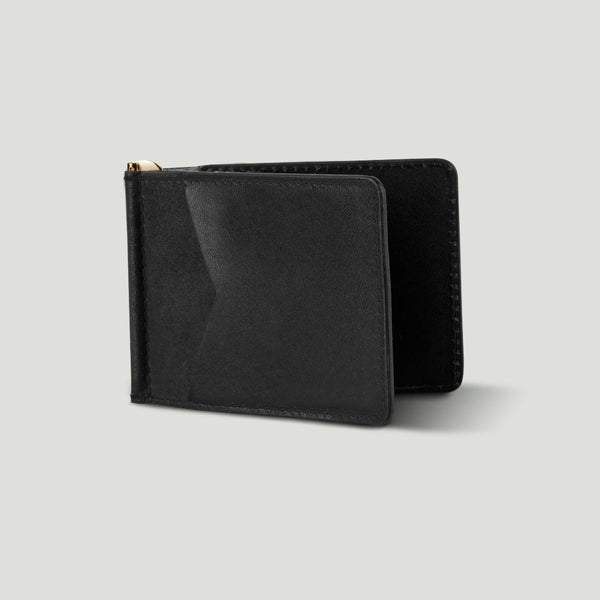 Wolf Bi-fold No. 2 Black - Wolf Leather Goods