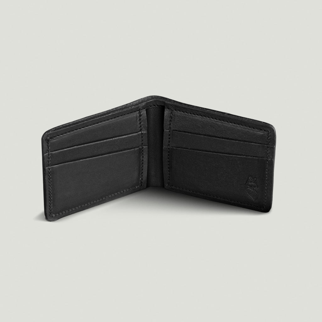 Wolf Wallet No 1 - Black - Wolf Leather Goods