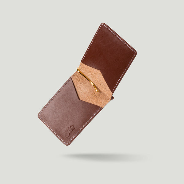 Wolf Bi-fold No. 2 Brown - Wolf Leather Goods