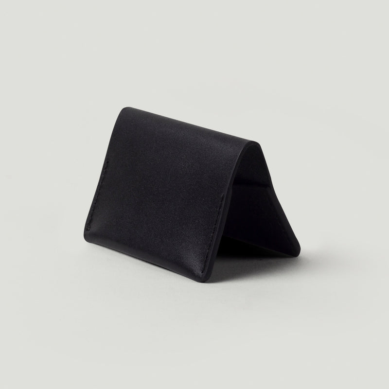 Wolf Card Holder No.2 - Black - Wolf Leather Goods
