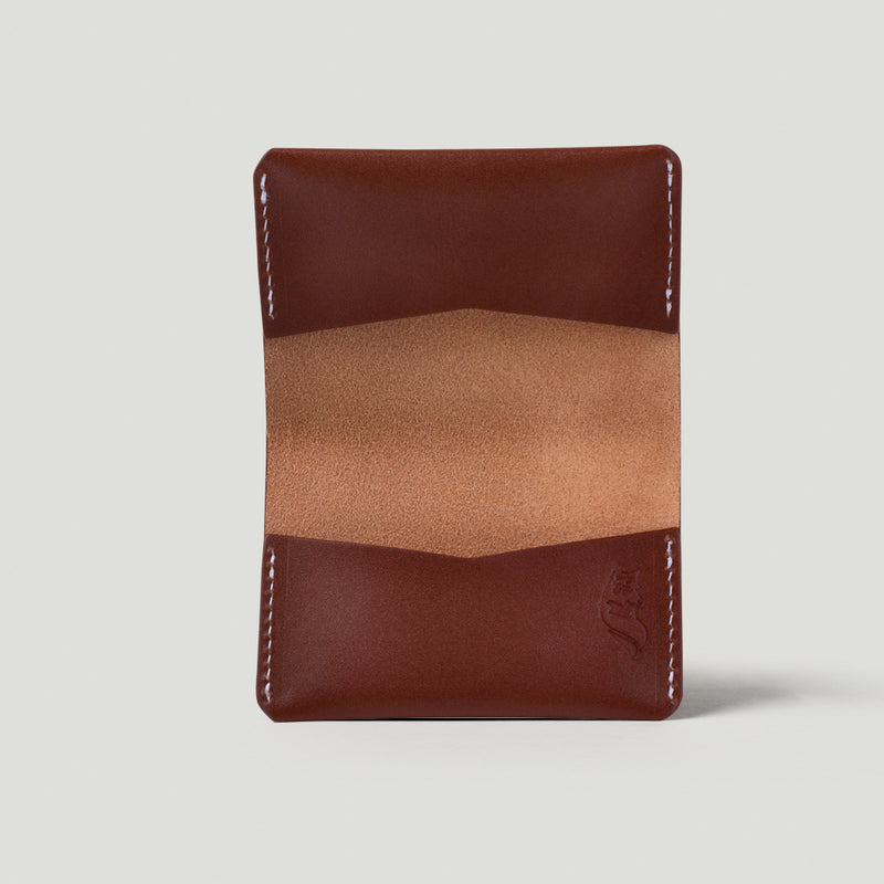 Wolf Card Holder No.2 - Brown - Wolf Leather Goods