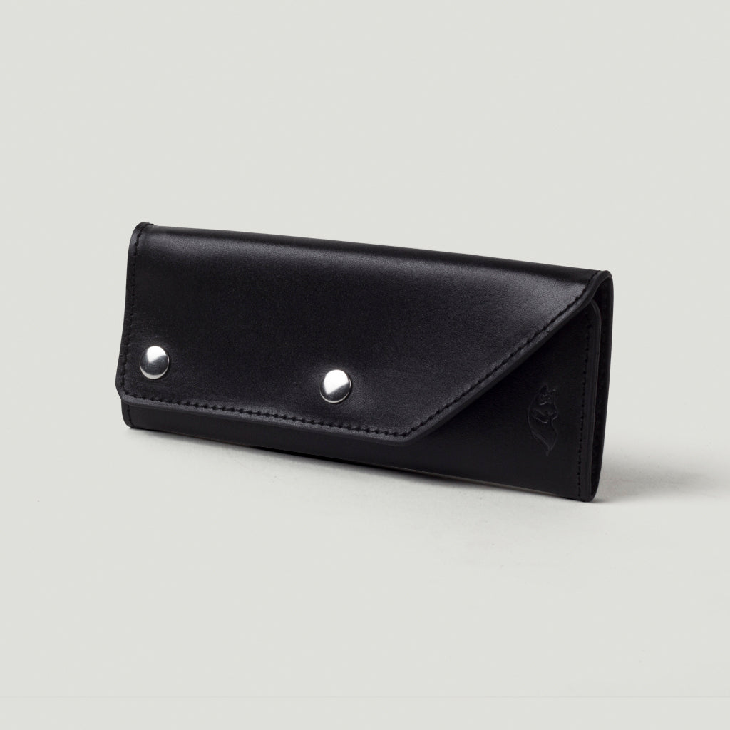 Wolf Trucker Wallet - Black - Wolf Leather Goods