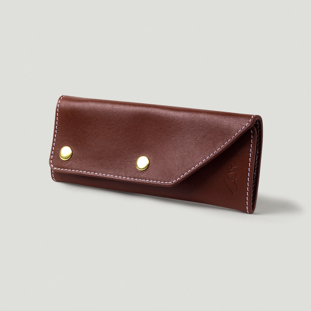 Wolf Trucker Wallet - Brown - Wolf Leather Goods