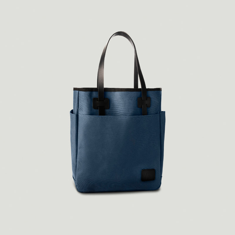 Wolf Tote Bag Blue - Wolf Leather Goods