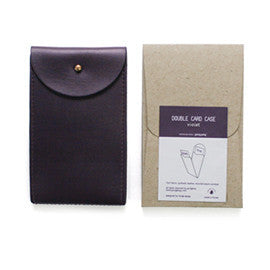 Ecology Double Card Case - Violet