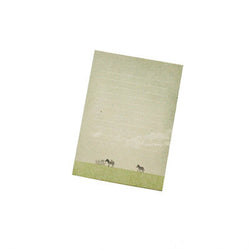 Ecology With Earth Card - Zebra