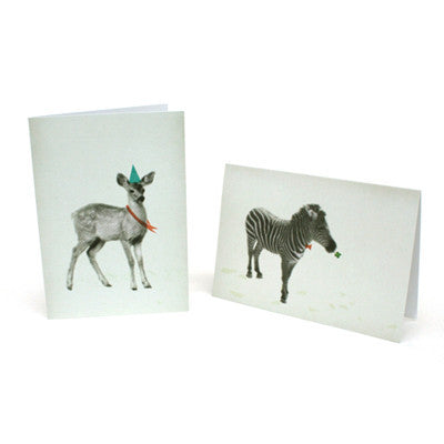 Ecology Card - Deer end Zebra
