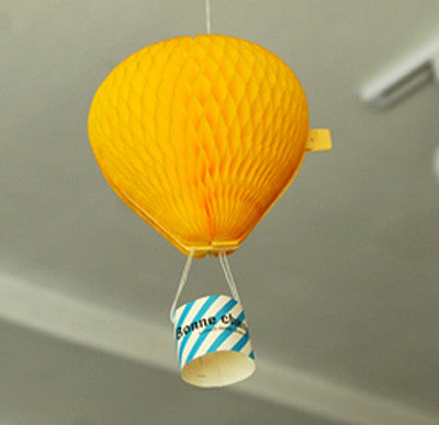 Fly Up Card - 3D - Yellow