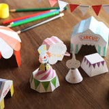 Kids DIY Play Book - Circus
