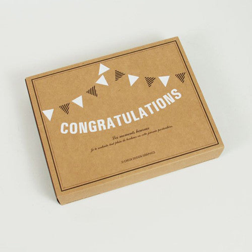 Message Bunting - Congratulations!