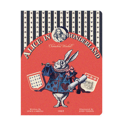 Stitch Notebook - Alice in Wonderland - Vintage Galore - Line Note - L - AL6748