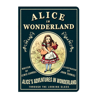 Stitch Notebook - Alice in Wonderland - Vintage Galore - Blank Note - M - AL7066