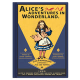 Hardcover Note - Alice in Wonderland - Vintage Galore - Blank Note - AL8674