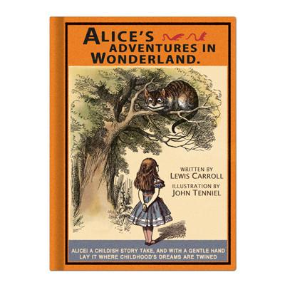 Hardcover Note - Alice in Wonderland - Vintage Galore - Agenda - AL8551