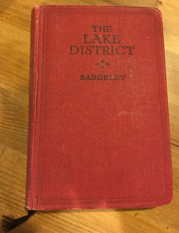 Ward Lock Red Travel Guide - The Lake District 19th ed TR:103